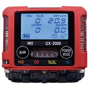 rki gx-2009 personal gas monitor osprey scientific