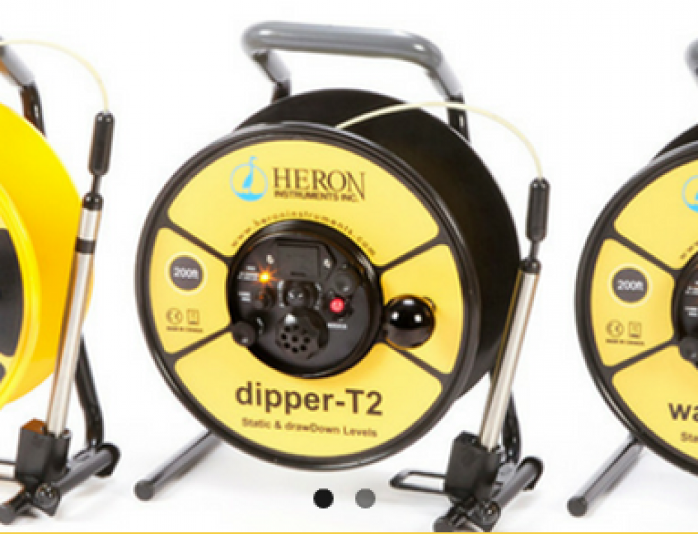 Heron's New Line of Water Level Meters